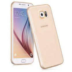 Hoco - Ultra thin series ultra vékony dokkolható Samsung S6 tok - arany
