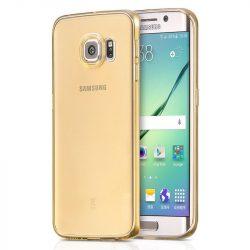 Hoco - Light series ultra vékony Samsung S6 edge tok - arany