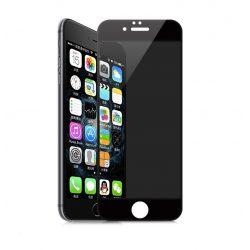 Hoco - Ghost series Full Privacy iPhone 6plus/6splus kijelzővédő üvegfólia - fekete