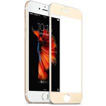 Hoco - Ghost series full titanium iPhone 6plus/6splus kijelzővédő üvegfólia - arany