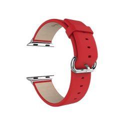 Hoco - Art series valódi bőr óraszíj Apple Watch 42/44 mm - piros