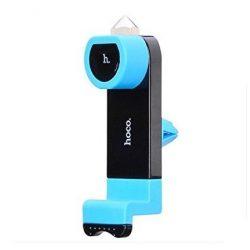 Hoco - CPH07 ablaktörő kalapácsos szellőzőrácsra tehető rugós telefontartó - kék