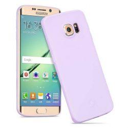 Hoco - Juice series matt Samsung S6 edge tok - világos lila
