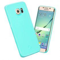Hoco - Juice series matt Samsung S6 edge tok - kék