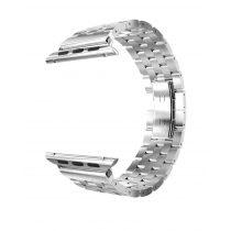 Hoco - Grand series 5 soros fém rozsdamentes acél óraszíj Apple Watch 38/40 mm - ezüst