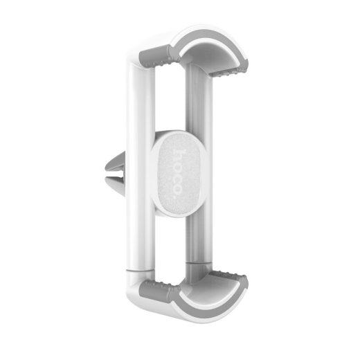 Hoco - CPH08 szellőzőrácsra tehető rugós telefontartó max 90 mm szélességig - fehér