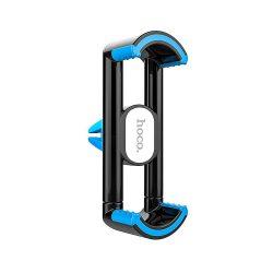 Hoco - CPH08 szellőzőrácsra tehető rugós telefontartó max 90 mm szélességig - kék