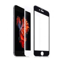Hoco - Ghost series Full nano iPhone 6plus/6splus kijelzővédő üvegfólia - fehér