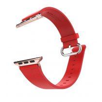 Hoco - Art series pago bőr óraszíj Apple Watch 42/44 mm - piros