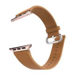 Hoco - Art series pago bőr óraszíj Apple Watch 38/40 mm - barna