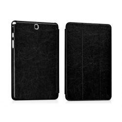 Hoco - Crystal series bőr Samsung Tab 4 8.0 T330 SM-T335 tablet tok - fekete