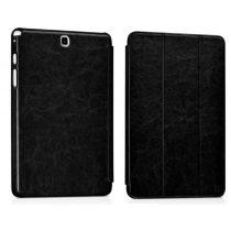 Hoco - Crystal series bőr Samsung Tab A 9.7 SM-T550 T555 tablet tok - fekete