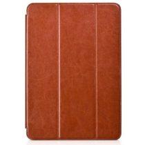 Hoco - Crystal series bőr Samsung Tab A 9.7 SM-T550 T555 tablet tok - barna