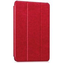 Hoco - Crystal series bőr Samsung Tab A 9.7 SM-T550 T555 tablet tok - piros