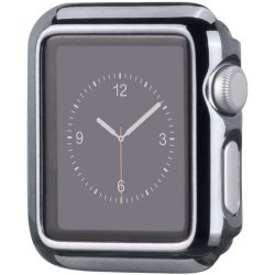 Hoco - okos óra műanyag védőtok Apple Watch 38 mm - acél