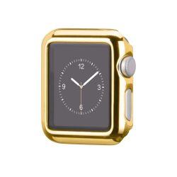 Hoco - okos óra műanyag védőtok Apple Watch 38 mm - arany