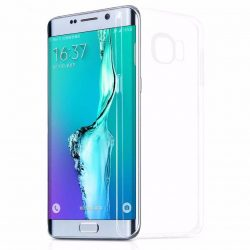 Hoco - Light series ultra vékony Samsung S6 edge+ tok - átlátszó