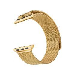 Grand series Milánói fémszövet rozsdamentes acél óraszíj Apple Watch 38 mm - arany