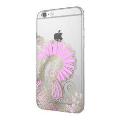 Hoco - Super star series bokor mintás iPhone 6/6s tok - arany