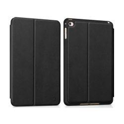 Hoco - Juice series nappa bőr iPad mini 4 tablet tok - fekete