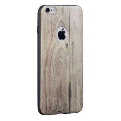 Hoco - Element series szilfa mintás iPhone 6/6s tok - barna