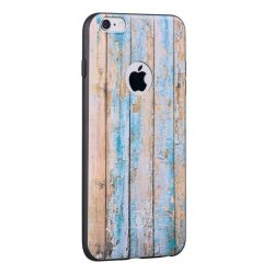 Hoco - Element series viharvert mintás iPhone 6/6s tok - barna