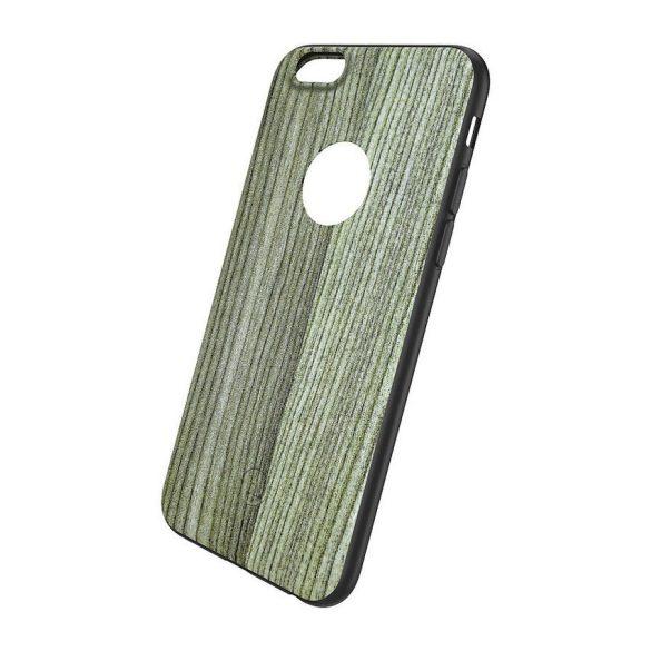 Hoco - Element series fehér tölgyfa mintás iPhone 6plus/6splus tok - barna