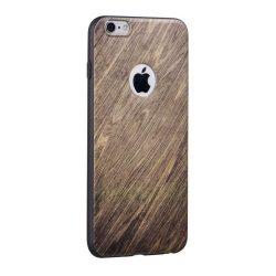 Hoco - Element series bükkfa mintás iPhone 6plus/6splus tok - barna