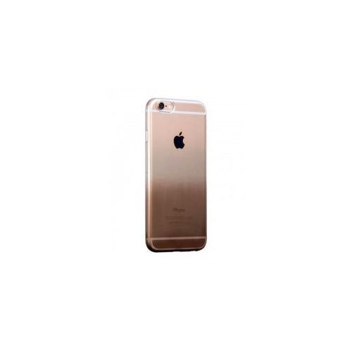 Hoco - Black series átlátszó színátmenetes iPhone 6plus/6splus tok - barna