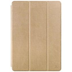 Hoco - Sugar series anilin bőr iPad Pro 12.9 / iPad Pro 12.9 (2017) tablet tok - arany