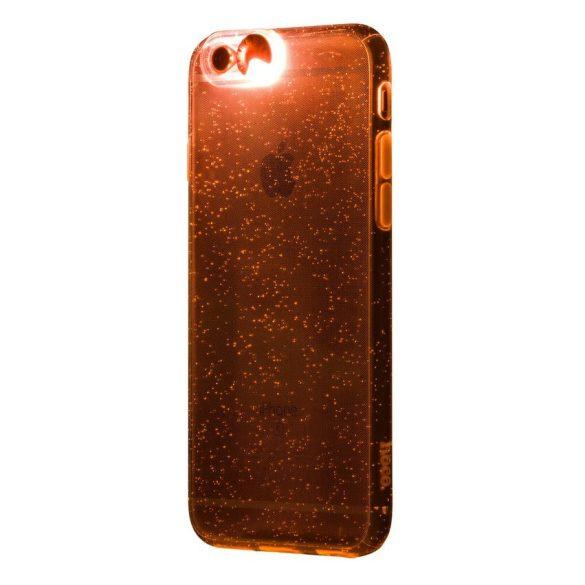 Hoco - Flashing series színes tokbevilágító vakutakarós iPhone 6/6s tok - arany