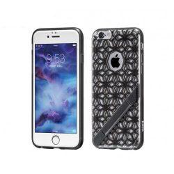 Hoco - Sebring series rácsos csipke mintájú iPhone 6/6s tok - fekete