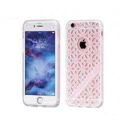 Hoco - Sebring series rácsos csipke mintájú iPhone 6/6s tok - fehér