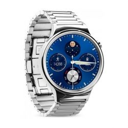 Hoco - Grand series 3 soros fém rozsdamentes acél óraszíj Huawei Watch - ezüst