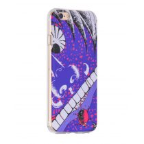 Hoco - Super star series száj mintás iPhone 6/6s tok - lila
