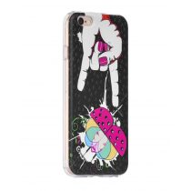 Hoco - Super star series bogár mintás iPhone 6/6s tok - fekete