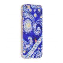 Hoco - Super star series égbolt mintás iPhone 6plus/6splus tok - kék