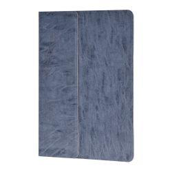 Hoco - In series antikolt bőr iPad Air 2 tablet tok - sötét szürke