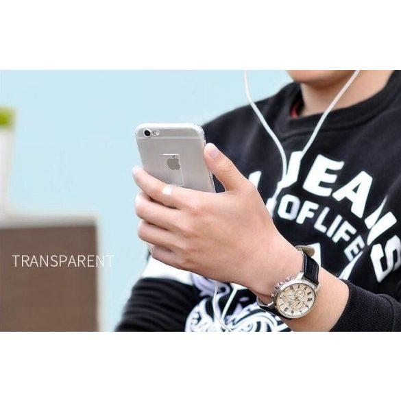Hoco - Finger holder series biztonsági ujj akasztós iPhone 6/6s tok - átlátszó