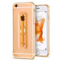 Hoco - Finger holder series biztonsági ujj akasztós iPhone 6/6s tok - arany