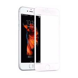 Hoco - Flexible series 3D PET kerettel iPhone 6plus/6splus kijelzővédő üvegfólia - fehér