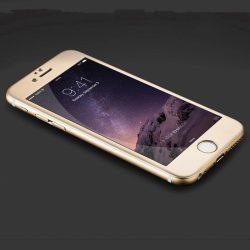 Hoco - Stainless Steel series prémium eloxált iPhone 6/6s kijelzővédő üvegfólia - arany