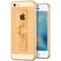 Hoco - Finger holder series biztonsági ujj akasztós iPhone 5/5s/se tok - arany