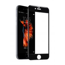 Hoco - Flexible series 3D PC kerettel iPhone 6plus/6splus kijelzővédő üvegfólia - fekete