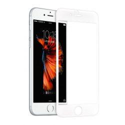 Hoco - Flexible series 3D PC kerettel iPhone 6plus/6splus kijelzővédő üvegfólia - fehér