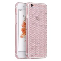 Hoco - Diamond series gyémánt mintás iPhone 6/6s tok - fehér