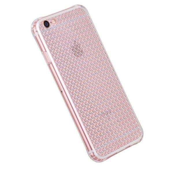 Hoco - Diamond series gyémánt mintás iPhone 6plus/6splus tok - fehér