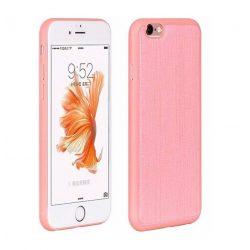 Hoco - Ultra thin series ultra vékony bőr mintás iPhone 6plus/6splus tok - pink