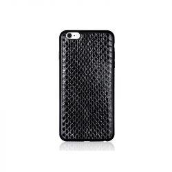 Hoco - Ultra thin series ultra vékony kígyó bőr mintás iPhone 6/6s tok - fekete