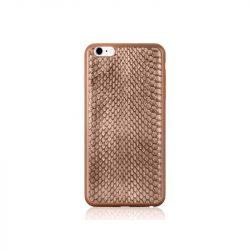Hoco - Ultra thin series ultra vékony kígyó bőr mintás iPhone 6/6s tok - barna